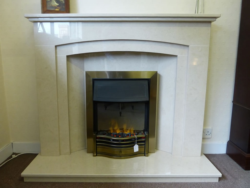 Danesbury LED in a Christina fireplace
