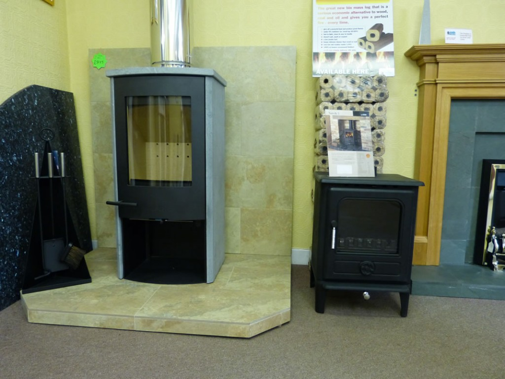 Lotus Monde woodburning stove